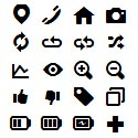 Post thumbnail of Free Vector Icons Font For Web and Apps (100 Icons)