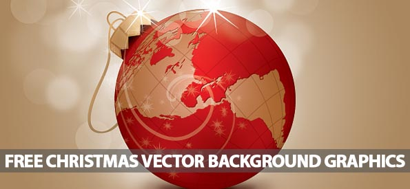 26 Free Christmas Vector Background Graphics