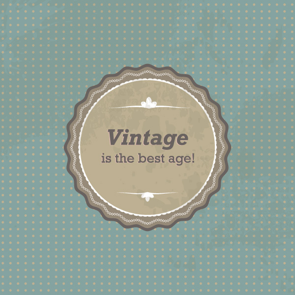 Vintage Sign Vector Graphic