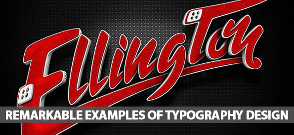 55 Remarkable Examples Of Typography Design