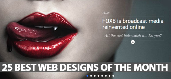 25 Best Web Designs Of The Month