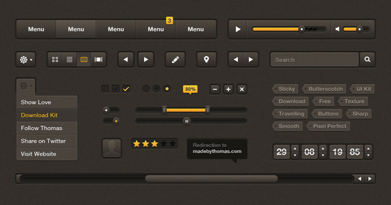 Free UI Kits For Web and Graphic Designers 11