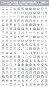 Free Icons For Web and UI Designers