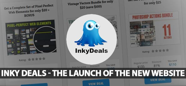 Inky Deals – The Launch of the New Website
