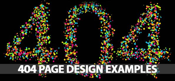404 Page Design – 30 Fresh And Creative Examples