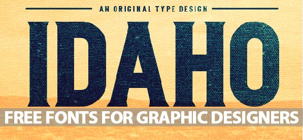 25 Free Fonts For Graphic Designers