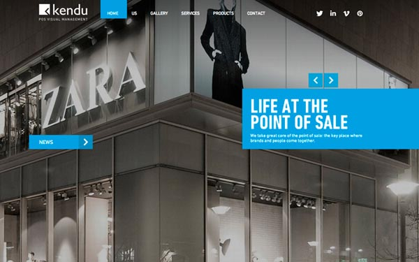 Inspiring Examples of Web Design - 18