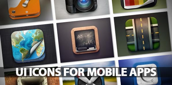 50 Beautiful UI Icons For Mobile Apps