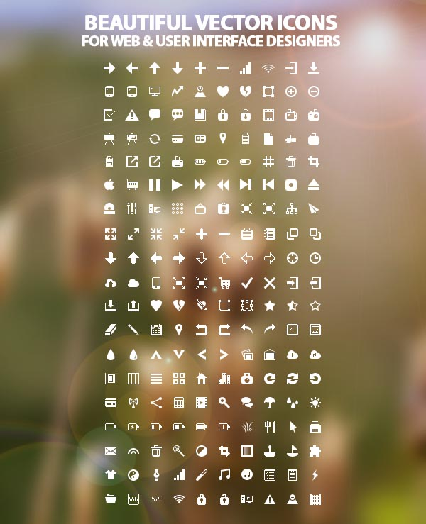 free vector icons for web and ui design