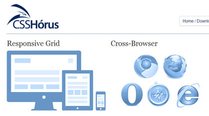 CSSHorus: CSS Framework For Quickly Creating Responsive & Mobile websites