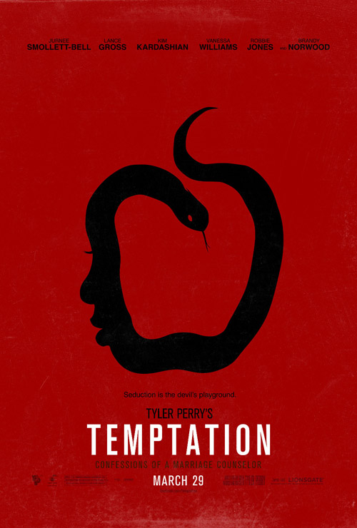 Temptation movie posters