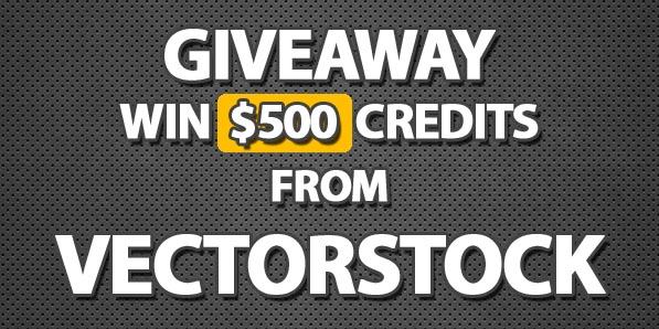 Giveaway: Win $500 credits for High Quality Vectors from VectorStock