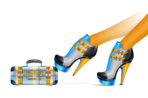 How to Create a Stylized Shoes and Clutch Fashion Illustration in Illustrator