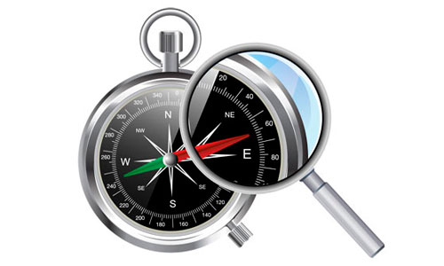 How to Draw Vector Compass in Adobe Illustrator