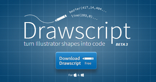 Drawscript: Easily Convert Illustrator Shapes Into Code