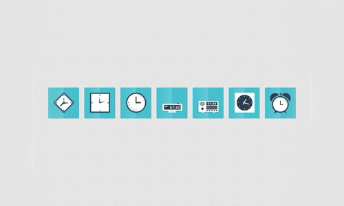 Flat Icons and Web Elements for UI Design-19