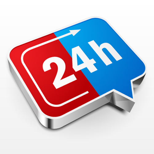 How to Create 24 Hours a Day Icon in Adobe Illustrator