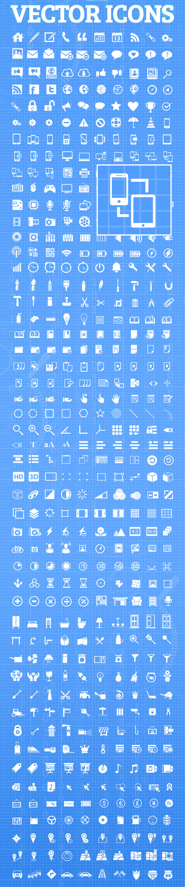 Mega Pack Vector Icons