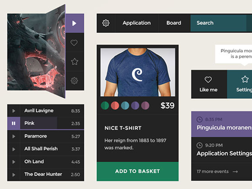 Free Psd UI Kits For Web and Mobile-20