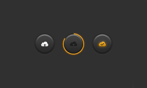 Free PSD Buttons-35