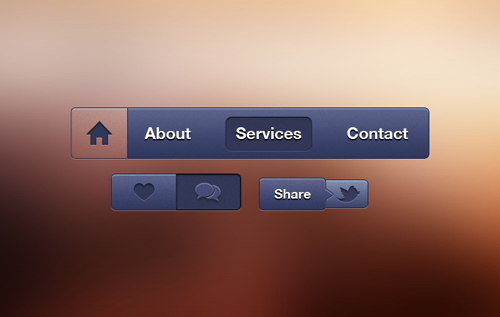 Free PSD Buttons-41