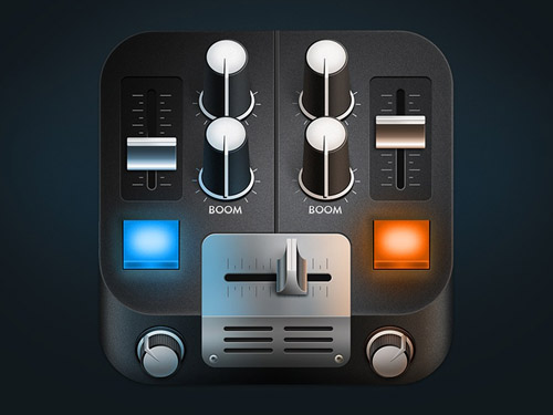 Mixing Desk mobile app icons