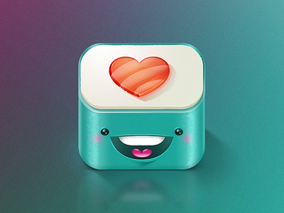 Cute Sushi mobile app icons