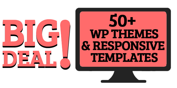 Big Deal: DXThemes: 50+ WP Themes and Responsive Templates – only $27
