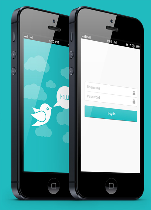 Flat Mobile UI Design and UX-10
