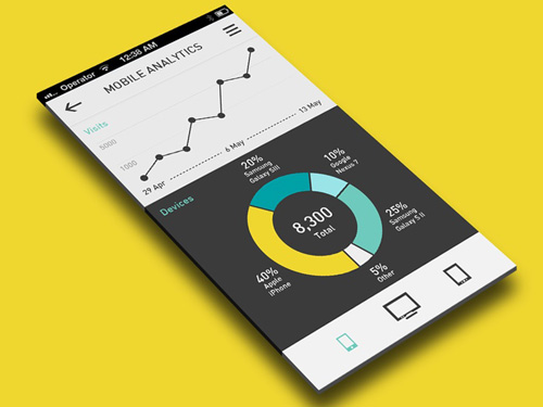 Flat Mobile UI Design and UX-15