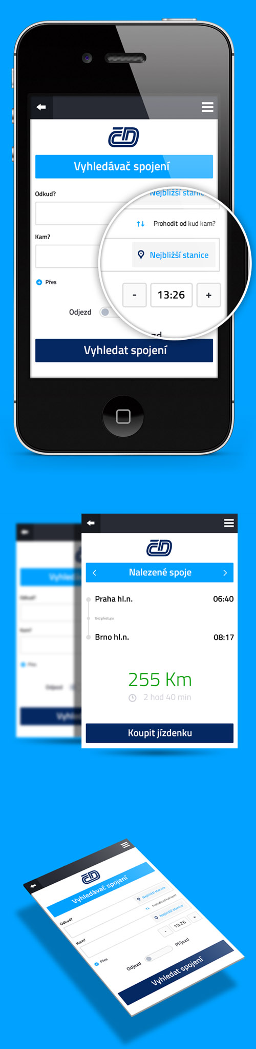 Flat Mobile UI Design and UX-36