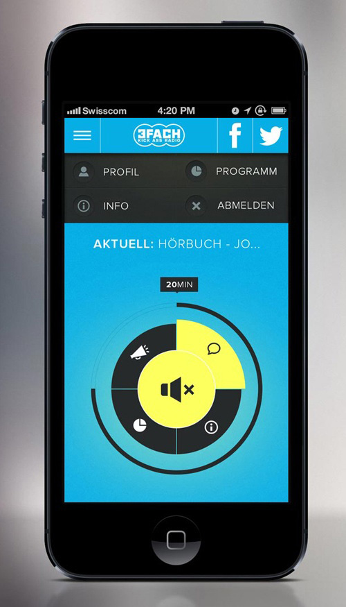 Flat Mobile UI Design and UX-4