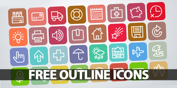 1000+ Free Outline Icons