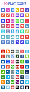 Beautiful Flat Icons Preview