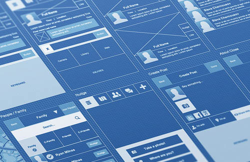 UX Wireframe