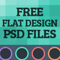 Post Thumbnail of 30 Free Flat Design Resources For Designers