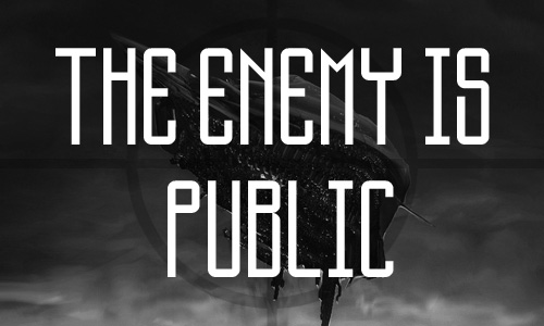 The Enemy Is Public Man free fonts