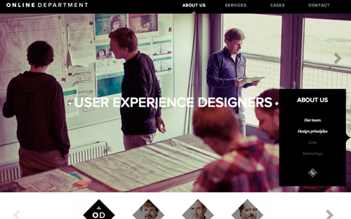 Fullscreen Websites Design