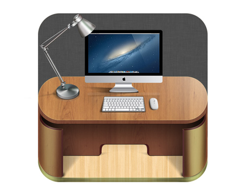 iOS Icon My workspace
