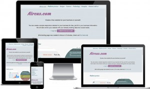 Aircus Create Free Website