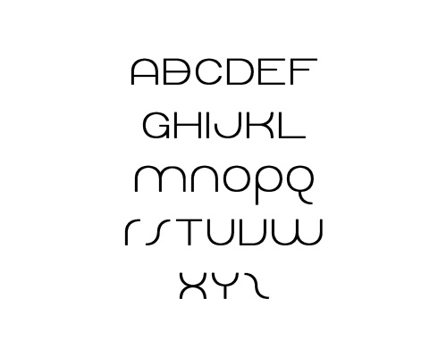 Dolphin Sans Free Font Typography / Lettering