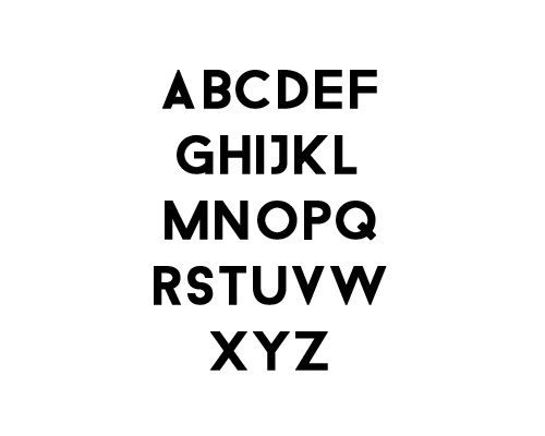 Droidiga Free Font Typography / Lettering