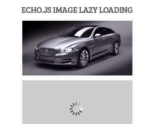 Echo.js: Simple JavaScript Image Lazy Loading