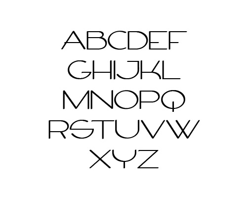 Firty Free Font Typography / Lettering