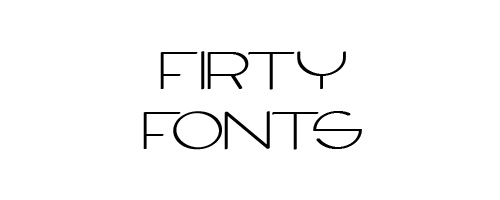 Firty Free Font