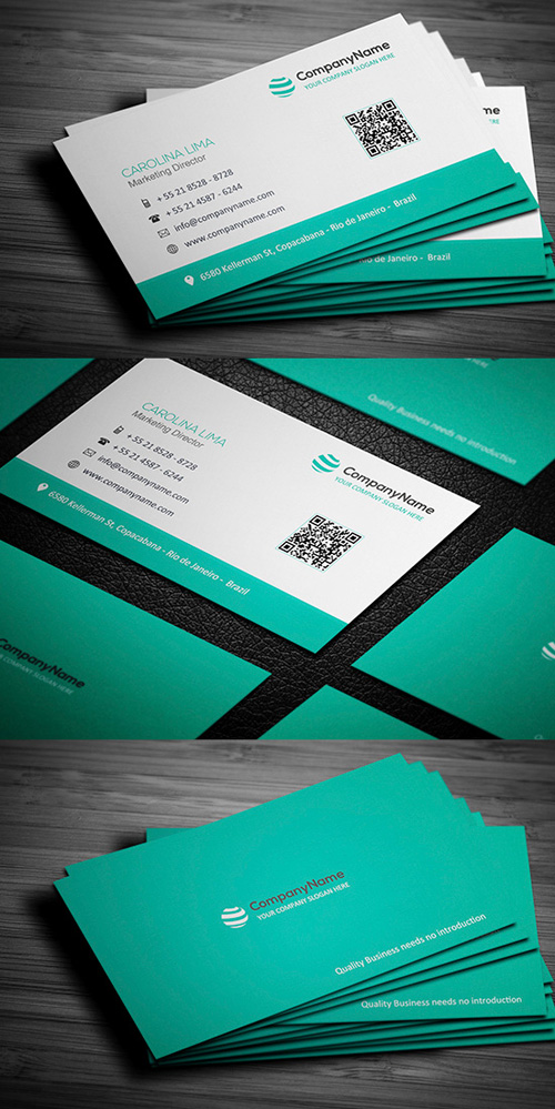 Business Cards Design: 50+ Amazing Examples to Inspire You - 21
