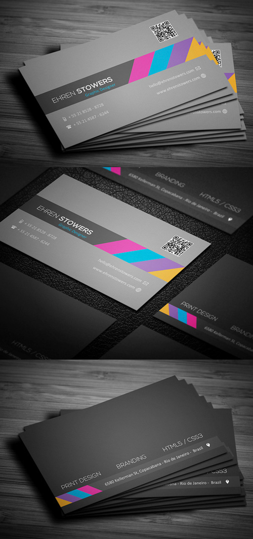 Business Cards Design: 50+ Amazing Examples to Inspire You - 22