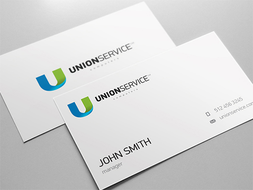 Unionservice Business card