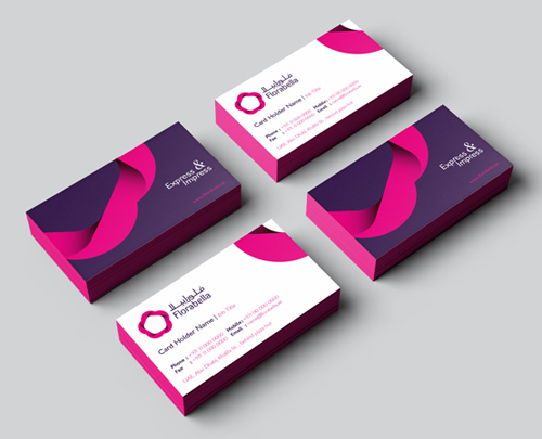 Florabella Identity Business card
