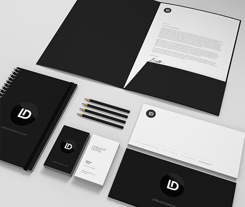Limelight Digital Branding letterhead